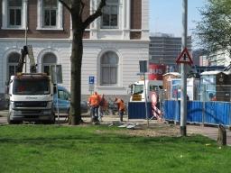 Geen nieuwe plek toiletgebouw door kabelproblemen