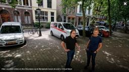 Algemeen Dagblad: 'Frans' plein Mariaplaats staat vol met blik