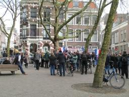 Pegida-mars vertrekt vanaf Mariaplaats